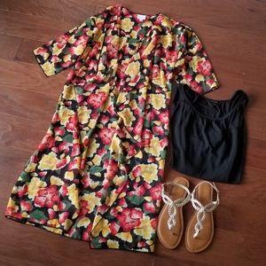 LuLaRoe Floral Shirley Kimono Coverup NWT